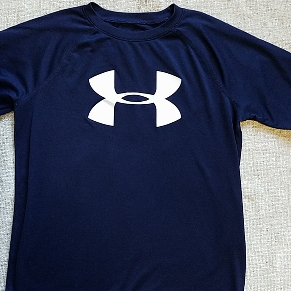 Under Armour Other - Under Armour Blue short sleeve YL Loose